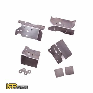 Individual Racing Parts - IRP Rear subframe reinforcement plates for chassis BMW E46